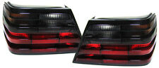 SMOKED REAR TAIL LIGHTS LAMPS FOR MERCEDES E CLASS W124 1985-1995 MODEL