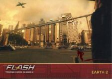 The Flash Season 2 Flash Stamped Parallel Locations Chase Card L04