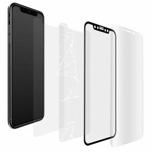 Für Huawei Y5 / Y6 / Y7 / 2017 2018 2019 - Display Schutz Folie Glas Panzerfolie