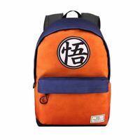 Dragon Ball Z Logo Laptop Backpack School Bag - Uni Anime Quality