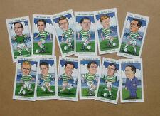 GLASGOW CELTIC 1967 EUROPEAN CUP WINNERS CARD SET