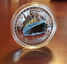 TITANIC RMS 2012 $2~NIUE~1oz~999 PROOF SILVER COIN~100TH ANNIVERSARY~2229 MINTED
