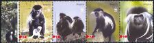 Angola 2004 WWF/Colobus Monkeys/Wildlife/Animals/Conservation 4v strp (n16193)