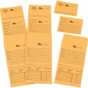 100 Triple Duty Repair Envelopes Pawn Shop Jewelry Store Supply Layaway Sale