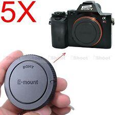 5x Kamera Gehäuse Deckel Kameradeckel für Sony NEX-7 NEX-6 NEX-5 NEX-5N 5R 5T