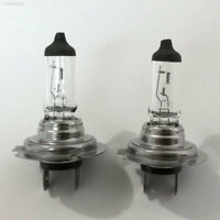 0600 2Pcs H7 55W 12V Super Bright Car Warm White Halogen Headlight Lamp Bulb