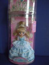 """Vintage Takara Topaz Gems Doll """" La Reine Rose """" By Sanrio Princess +Topaz Tiara"""