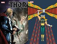 Marvel Comics 2020 Thor 9 Coipel Main Cover A + Veregge NM 11/4 Pre-Sale