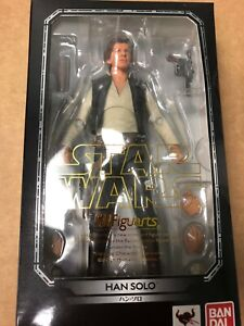 S.H. Figuarts Star Wars A NEW HOPE HAN SOLO US SELLER  Casting Cave Head