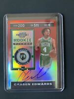 2019-20 Contenders Optic Rookie Ticket Red Prizm Auto Carsen Edwards 146/149 🔥
