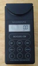 Micronta 63-645 Electronic Tape Measure Ultrasonic! Used! Free Shipping!!