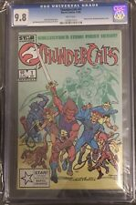 Thundercats #1 CGC 9.8 White Pages Marvel 1985