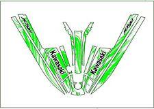 kawasaki 550 sx jet ski wrap graphics pwc stand up jetski decal sticker bottom 2