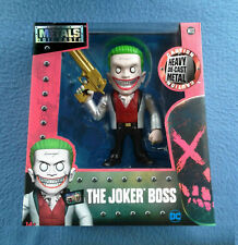 THE JOKER BOSS 6 INCH FIGURE METALS DIE CAST JADA TOYS 2017 BATMAN DC COMICS