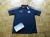 NWT Toronto FC MLS Soccer Football Adidas TFC Polo Shirt Top Men Large
