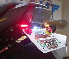 Honda Grom MSX125 Fender Eliminator Kit w/ Amber LED Turn Signals & FR - Smoke