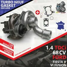 Turbo NEUF FORD FIESTA V Van 1.4 TDCi -50 Kw 68 Cv 54359700009 AVEC JOINTS GASKE