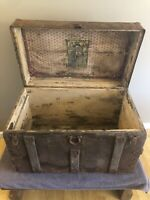 Antique Trunk From 1800's