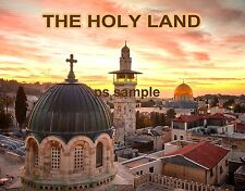 Jerusalem THE HOLY LAND - Travel Souvenir Fridge MAGNET