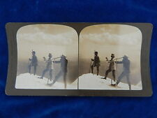 STEREOVIEW - H.C. WHITE CO - 12541 SUBMIT OF MT HOOD OREGON USA - TOP !