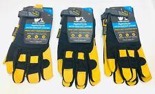 Wells Lamont HydraHyde Premium Leather Work Gloves Men's Medium/Large/XL NEW