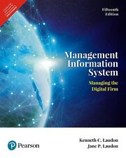 Management Information System 15E by C. Laudon Kenneth and P. Laudon Jane