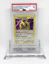 Pokemon Shining Legends Shining Arceus 57/73 Ultra Rare Holo Foil PSA 7 #8664919
