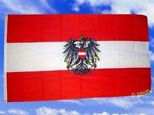 Fahne Flaggen ÖSTERREICH MIT WAPPEN 150x90cm TDShop24
