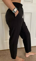 "Lululemon Size 6 Beyond The Studio Crop Black BLK Pant HR Run Yoga 25"""