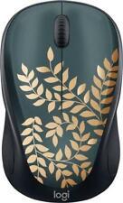 Logitech Design Collection Wireless Optical Mouse Nano Golden Garden