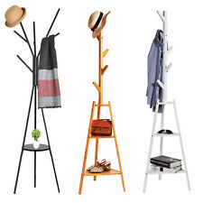 Coat Rack Hat Hanger Holder Hall Tree Freestanding Stand Clothing Storage
