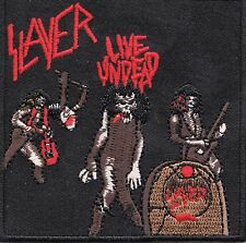 Slayer - Live Undead - Iron or Sew On Patch