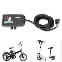 24/36/48V Ebike Handlebar LED Panel Display W/ Light For Electric Bike Scooter