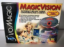 I/O Magic Vision Conferencing Web Camera, Gray / Orange - DR-CMEPP1 VTG Cam