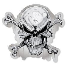 "Danger Skull risky business sign sticker decal 5/"" x 5/"""