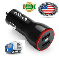 Car Charger, Anker 24W Dual USB Car Charger Adapter,  PowerDrive 2 for iPhone XS