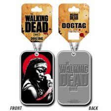 The walking dead Dog Tag officiel Michonne sous blister the walking dead pendant