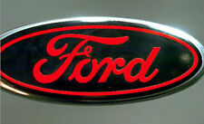 Ford Emblem Oval OVERLAY Badge Vinyl Decal Sticker Any Year / Model Custom Set 2