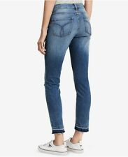 CALVIN KLEIN Jeans Womens Jeans Frayed Hem 425282X