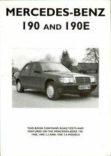 Mercedes-Benz 190 190E 2.3 2.6 - USEFUL UNIQUE MOTOR BOOK
