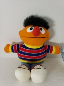 Ernie Plush Jim Henson 1993 14 Inches Vintage Rare Collectible Sesame Street