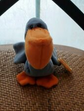 Scoop the Pelican Beanie Baby PVC PELLETS With Multiple ERRORS Retired TY 1996