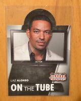 Laz Alonso 2015 Panini Americana On The Tube Insert Card #6