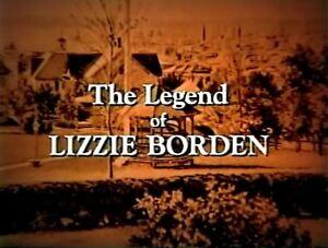 Legend Of Lizzie Borden - 1975 Stars Elizabeth Montgomery (UK/Euro disc only)