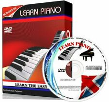 Piano Lessons on DVD tutorial teach Learn how to play