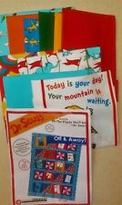 Dr. Seuss Off & Away Oh The Places You Will Go Quilt Kit by Robert Kaufman