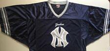 MLB New York Yankees Men's Navy Blue Football Jersey XL BRAND NEW Baseball