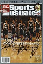 San Antonio Spurs Sports Illustrated Autograph Poster - The Quiet Dynasty