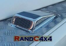 Da4000ss Land Rover Defender Acier Inoxydable Aile Haut prise d'air Grille main gauche