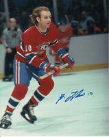 Guy Lafleur Montreal Canadiens Autographed Signed 8x10 Photo (C)